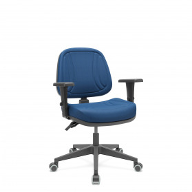 Cadeira Premium Executiva Back Plax com Base Piramidal