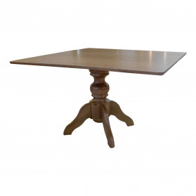 Mesa de Jantar Munique Slim Quadrada